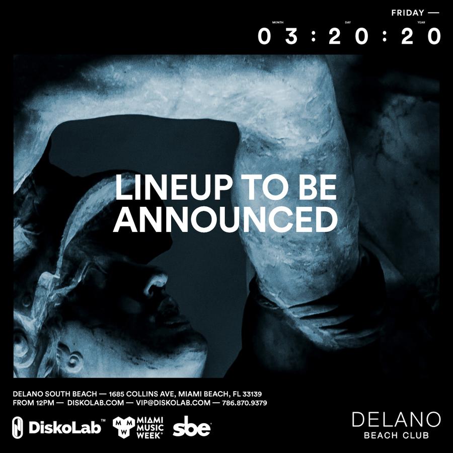 Friday March 20 at Delano Beach Club l MMW 2020 Image