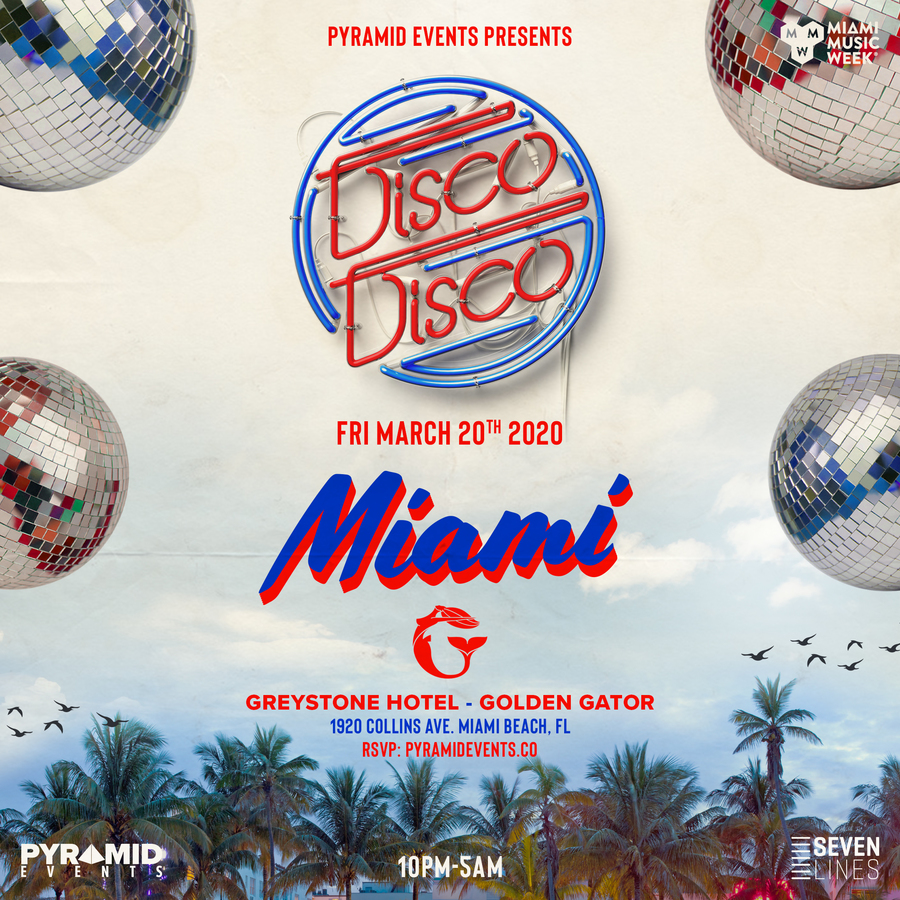 DISCO DISCO | Miami Music Week Image