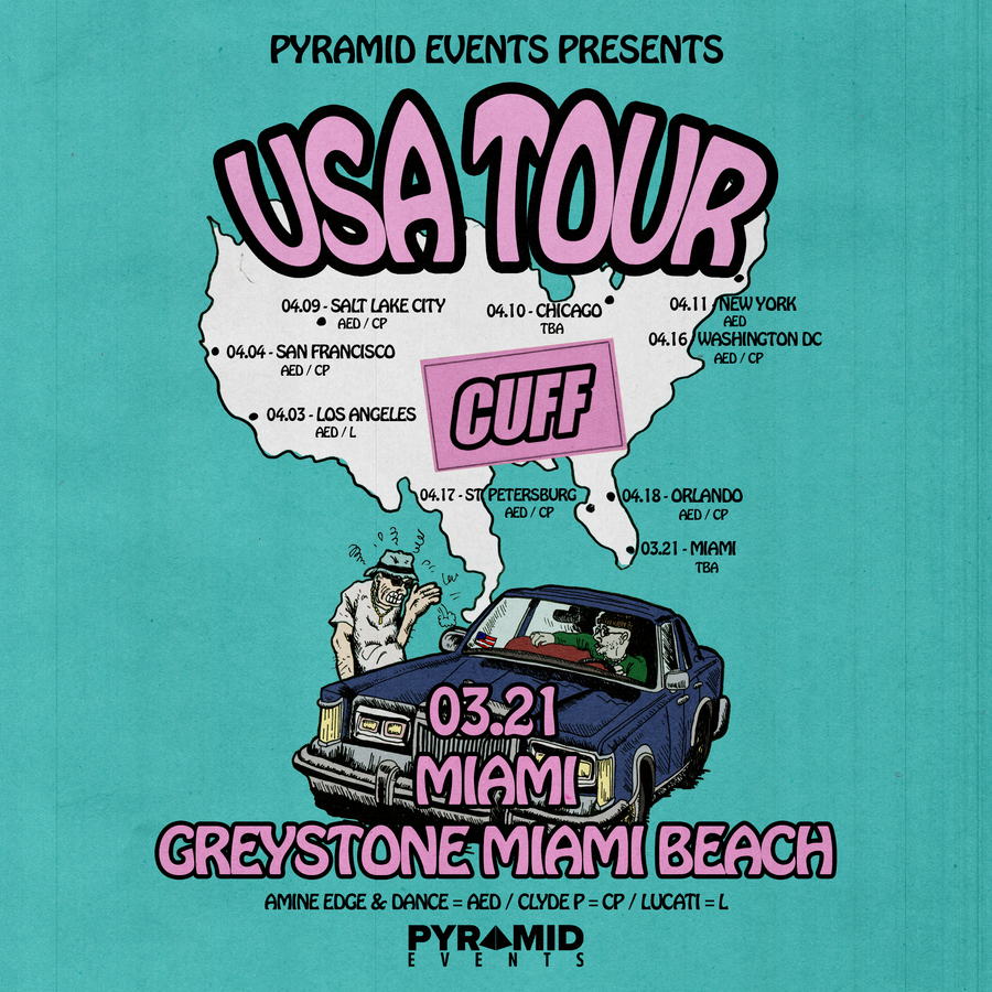 CUFF    Miami Music Week Hotel Takeover Image