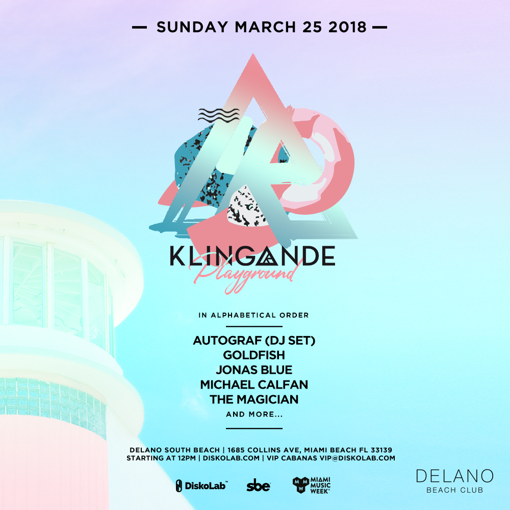Klingande's Playground Pool Party 2018 Image