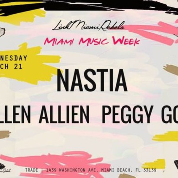 Nastia presents: Ellen Allien + Peggy Gou Image