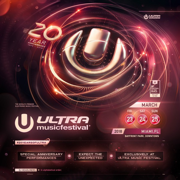 Ultra Music Festival – 20 Year Anniversary - Day 2 Image